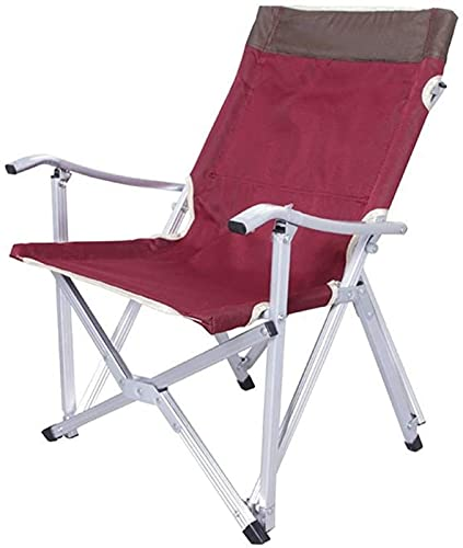 WXHHH Outdoor-Sport-Angelstuhl Tragbarer Stuhl Klappbarer atmungsaktiver Netz-Aluminium-Camping-Angelgarten-Gartenstuhl Angelstuhl Angelprodukt