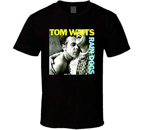 New Tom Waits Rain Dog Music Legend Men T-Shirt Size S-3XL T Shirts Casual Clothing Cotton Top tee Plus Size