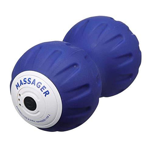 Recargable Portátil Vibración eléctrica Peanuta Bola de maní Relajación Músculo Inicio Gimnasio Fitness Yoga Massager Atención de salud Capacitación de Yoga Accesorios - Línea de masaje humanizada Fác