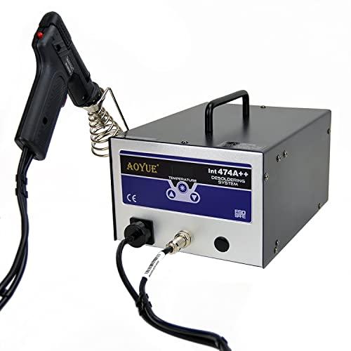 Aoyue 474A++ 80 Watt Digital Desoldering Station with Built-in Vacuum Pump