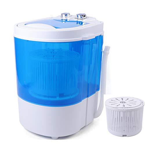 Mini lavatrice con centrifuga da 4 kg, portatile,...