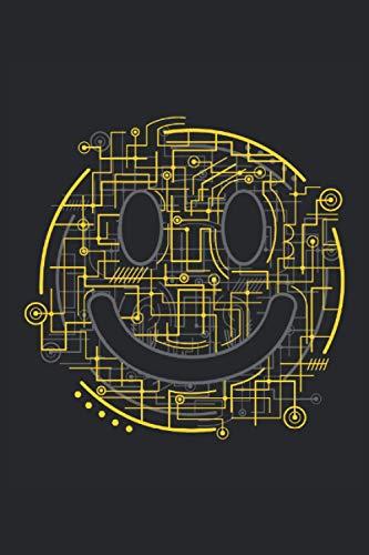 Elektro Smiley Geschenkidee freunde: Notizbuch