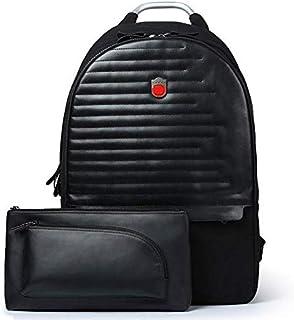 Backpack and Chest bag shoulder bag travel USB charging Multi-function backpack laptop bag school bag 2pcs[zZ]