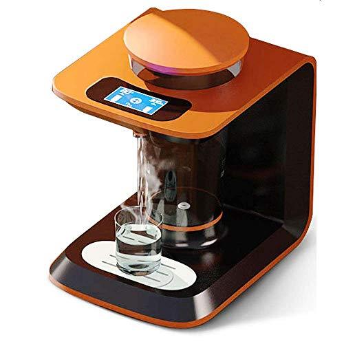 MUBAY Aufsatz- Heißwasserspender, Warmwasserspender for Küche Einstellbare Körbchengröße, 3,6 l Wassertank 2100W 6 Modus Smart-Sicherheitsschloss-3s schnell Heizung
