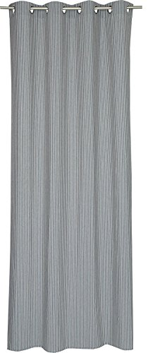 Esprit 70477-012 Rideau à œillets, Weiß, 250 x 140 cm