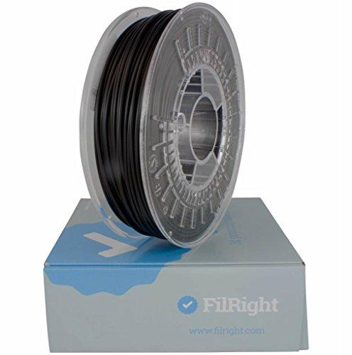 FilRight Maker PLA - 1 kg - Zwart, voor FDM/FFF 3d printers, 1,75mm