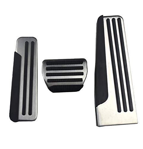 JessicaAlba Stainless Steel Gas Fuel Brake Foot Rest Pedal Cover Pads Mats for Infiniti Q50 Q60 Q70 QX50 QX70 G25 G35 G37 M25 EX FX Car Styling