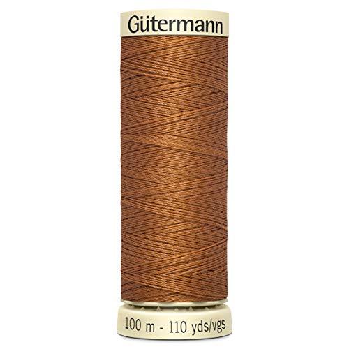 Gutermann Sew-all Sewing thread 100m - 448 Light Brown