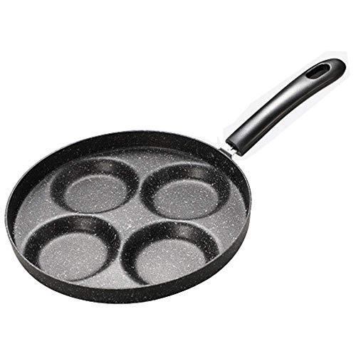 Plhzh Sartén Para Tortillas, Mini Sartén De Cuatro Agujeros, Sartén Antiadherente, Sartén Para Tortitas, Molde Para Tortillas.