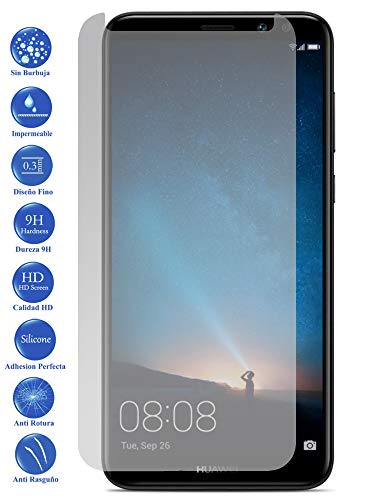 Todotumovil Protector de Pantalla Huawei Mate 10 Lite de Cristal Templado Vidrio 9H para movil