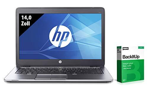 HP EliteBook 840 G2   Notebook   14,0 Zoll   Intel Core i7-5600U @ 2,6 GHz   8GB RAM   250GB SSD   FHD (1920x1080)   Windows 10 Home (Zertifiziert und Generalüberholt)