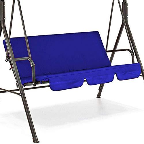 YOREN Outdoor-Hollywoodschaukel, wasserdicht, Aufhängung, Ersatz für Hollywoodschaukel, geeignet für Dreisitzer-Schaukeln blau