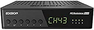 Edision HDMI MODULATORE Xtend lite, monocanale da HDMI a DVB-T MPEG4 FULL HIGH DEFINITION, con INGRESSO RF-in , HDMI-loop