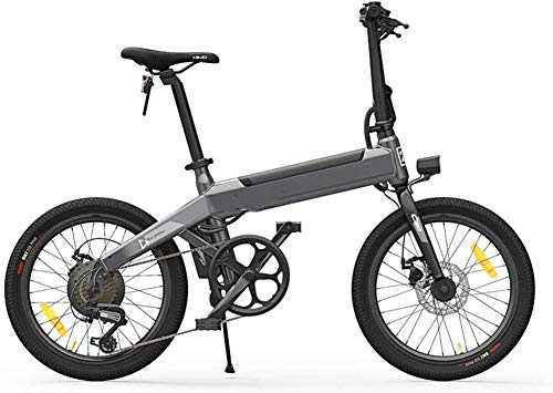 JXH Folding Electric Bike for Adults 25 Km/H Moped Bicycles with 250W Motor Brushless Bicycle Load Capacity 100 KG for Sports Cycling Travel Commuting