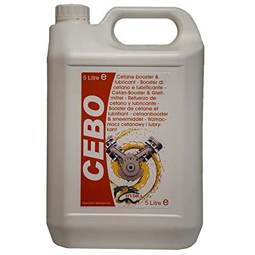 Booster cétane 2 EHN 99% 2 Nitrate d'éthylhexyle 5L Traite jusqu'à 5000L de carburant