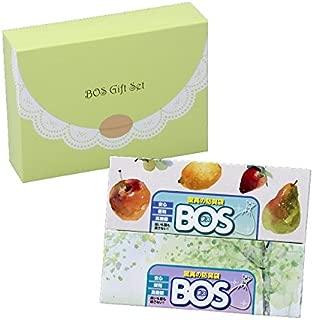 驚異の防臭袋 BOS (ボス) ギフト セット (Lサイズ 90枚 & LLサイズ 60枚) 贈り物 に便利な 消耗品 ギフト ※外箱リニューアル!