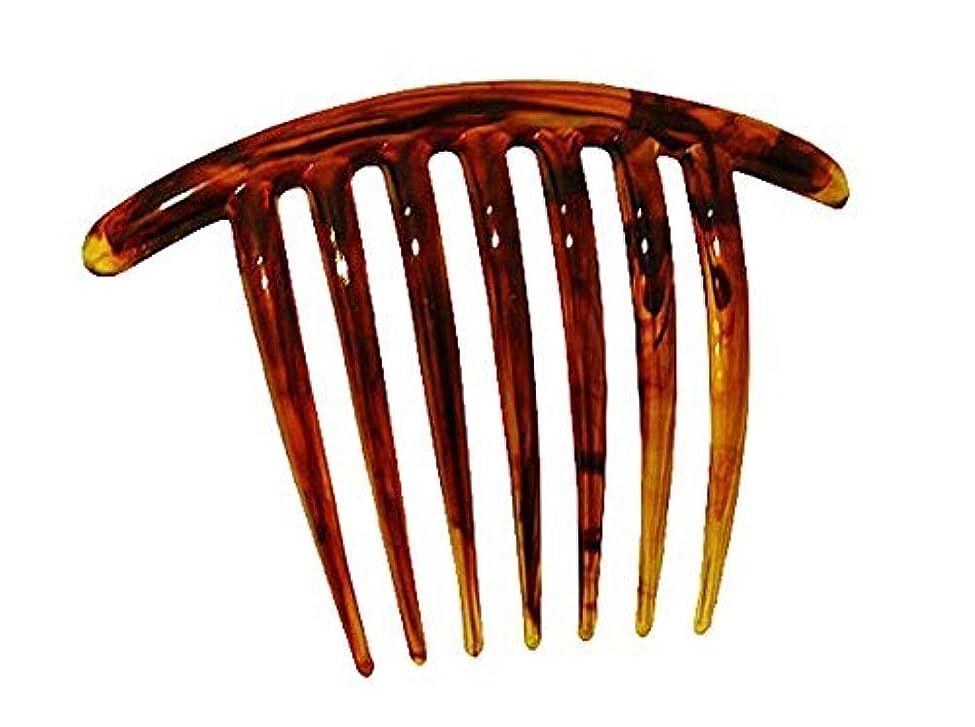 信仰啓発する生き返らせるFrench Twist Comb (set of 5) in Tortoise Shell [並行輸入品]