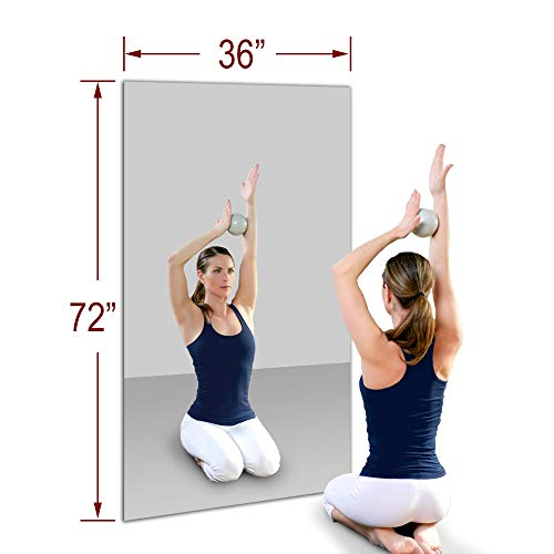 TroySys 36' x 72' MiraSafe Single Gym Mirror Kit