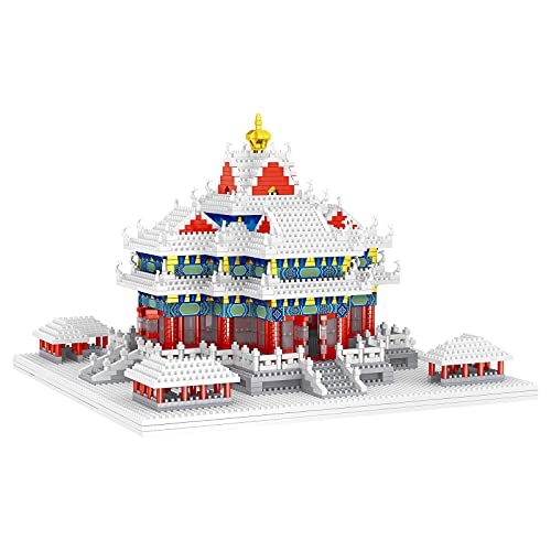 Block Toy Micro Building Blocks, Watch Tower Mini Diamond ladrillo, 3D, figuras de modelo, juguete para niños