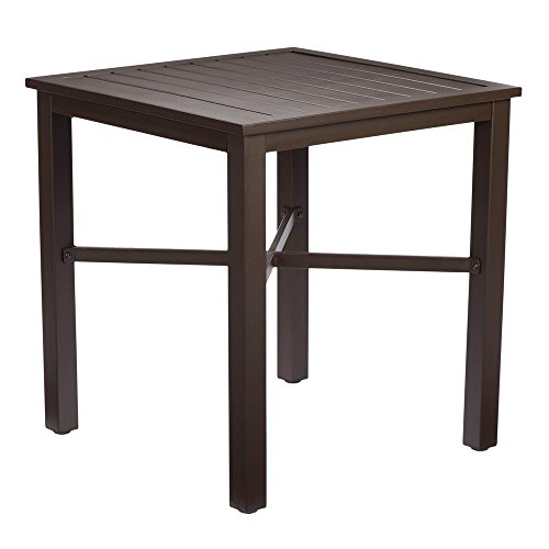 Hampton Bay Mix and Match Metal Outdoor Bistro Table