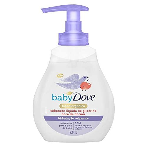 Sabonete Líquido de Glicerina Hidratação Relaxante Dove Baby Hora de Dormir Frasco 200Ml, Baby Dove