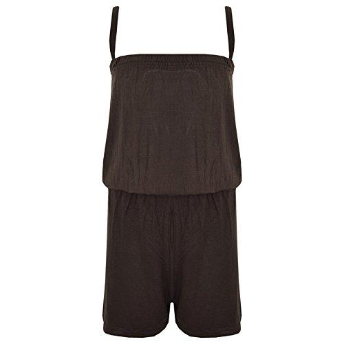 A2Z Jumpsuits voor kinderen, voor meisjes, jumpsuits voor kinderen, eenkleurig, effen -  - 9-10 Ans (134-140)