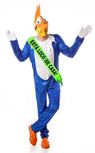 Disfraz de Pajaro Loco con Banda - Despedidas de soltero
