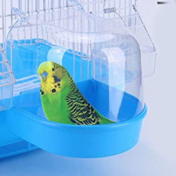 Balacoo Lot de 2 suspensions pour Baignoire à Oiseaux, Cage de Douche, Petite Cage pour Oiseaux et Petits Oiseaux
