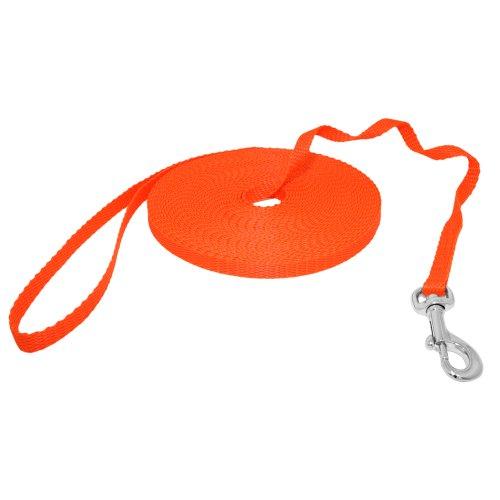 Hunde Design Mini Schleppleine Orange 20m
