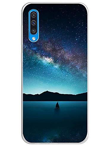 Caler Carcasa Compatible con Samsung Galaxy A40 Teléfono Móvil TPU Bumper Silicona...