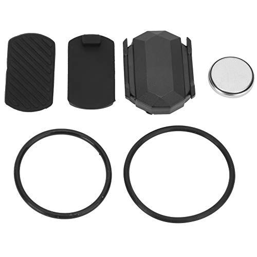 Sensor de velocidad para bicicleta de doble uso, sensor de cadencia, sensor de distancia y sensor de cadencia, apto para Garmin, Wahoo, Zwift, Tacx, Bryton