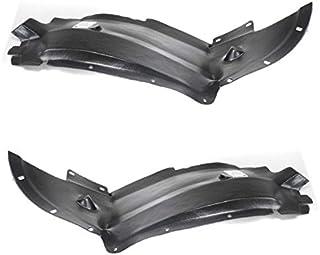 Koolzap For 03-05 Chevy Cavalier Front Splash Shield Inner Fender Liner Left Right SET PAIR