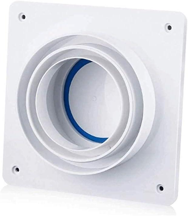 JHYS Extractor de Pared, Extractor, Techo, instalación Lateral, baño, Extractor, Ventilador, válvula de retención, Anti Olor