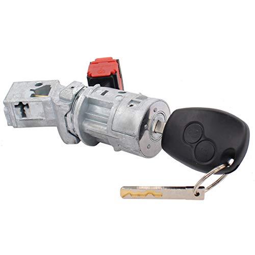 Zündschloss Zündschalterschloss Starter Zylinder für Movano B Kasten Kipper Pritsche Fahrgestell Clio 3 Grand Kangoo Express Master III Bus
