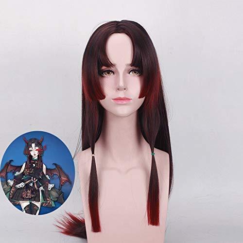 Juego Cosplay Yin y Yang Division Hand Tour/Vampire Girl Cos peluca larga pelo sintético disfraz mostrar pelucas Anime + gorro de peluca