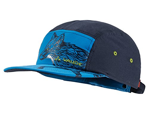 VAUDE Kinder Kappen Tammar Baseball Cap, radiate blue, M, 410749465300
