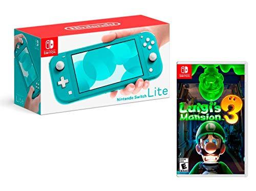 Console Nintendo Switch Lite - turquoise + Luigi's Mansion 3