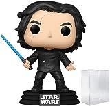 Funko Pop! Star Wars: The Rise of Skywalker – Ben Solo con sable azul (Kylo Ren) figura de vinilo (incluye funda protectora de caja emergente)