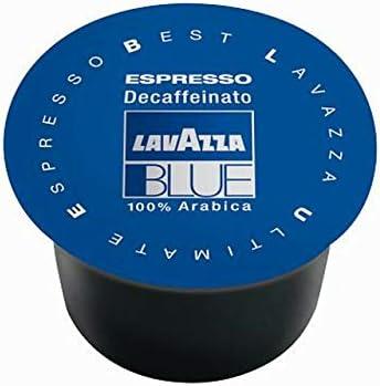 100-Count Lavazza BLUE 28.2oz Capsules Espresso Decaffeinato Coffee Blend