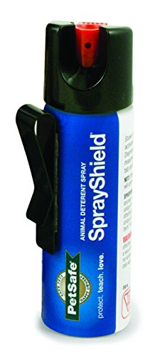 PetSafe SprayShield Animal Deterrent with Clip, Citronella Spray up to 10 ft, Protect Yourself and...