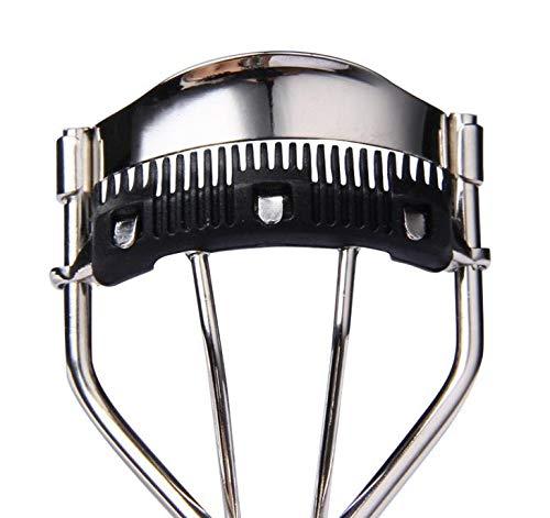 Professionelle Wimpernzange mit eingebautem Kamm, Wimpern Curling Tool mit Kamm-Clip, Lash Curler