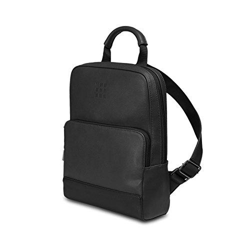 Moleskine - Classic Mini Backpack, Zaino Mini per Uomo e Donna, Mini Zainetto Porta PC Piccolo, Dimensioni 34 x 25 x 11 cm, Colore Nero