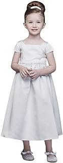 Best silver chiffon flower girl dresses Reviews