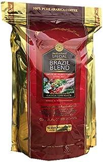 コーヒー豆 スペシャル ブラジル ブレンド 2.2lb(1Kg) 【 豆 のまま 】 100% アラビカ コーヒー クラシカルコーヒーロースター