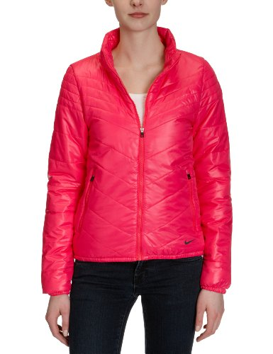 Nike Damen Jacke Ultra Lightweight, Cherry/Anthracite, L, 418566