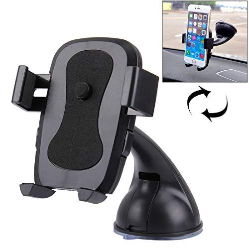 Autotelefoon mount Auto bracket Gebogen handvat zuignap Car Phone Navigation Holder, andere slimme telefoons mobiele telefoon houders voor auto's (Color : Blue)