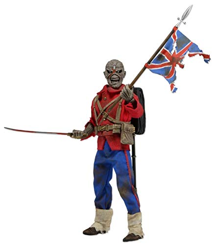 NECA- Iron Maiden Figura Retro Trooper Eddie, Multicolor (NECA14903)