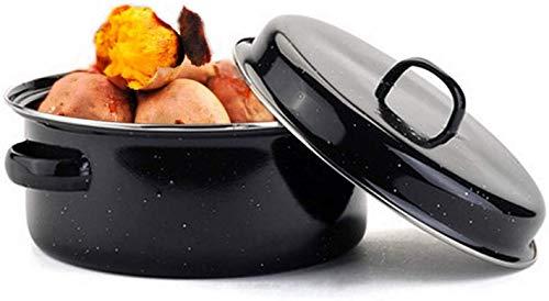 Wzmdd Nieuwe Koreaanse Stijl Multifunctionele Huishoudelijke Rookvrije Grill Pot Gebakken Zoete Aardappel Barbecue Saus Antistick BBQ Gegrilde Aardappel Pot Keuken Pot