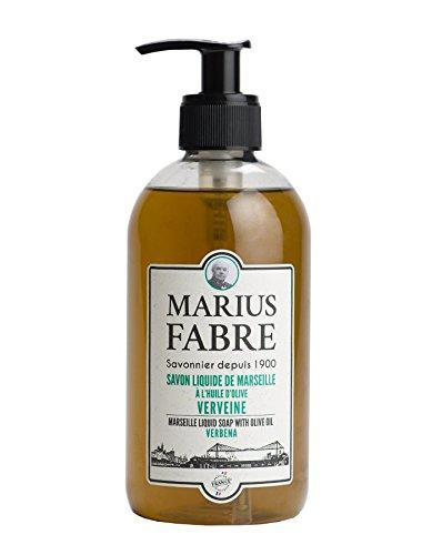 Marius Fabre Savon Liquide de Marseille Verveine - EISENKRAUT-Flüssigseife - REIN PFLANZLICH - 500 ml
