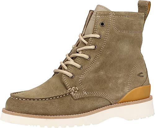 Camel Active Damen Scoot Ancle Boot Stiefelette, olive, 39 EU